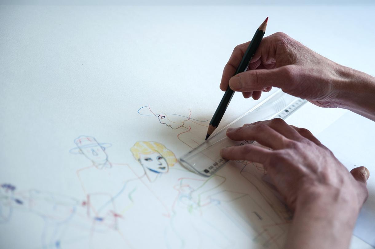 Christian Cailleaux, Auteur et Illustrateur à Bordeaux. Photo de Gary Lafitte pour 10point15.