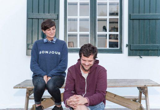 Jeanne Boulart & Pierre Lafitte, Directeur Artistique à Saint-Jean-de-Luz.