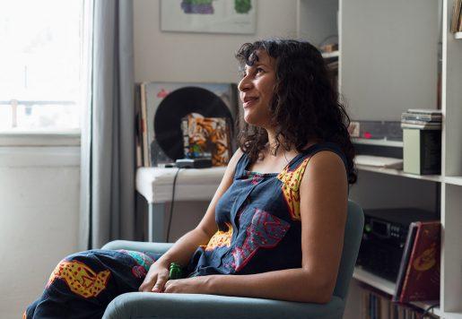 Shanti Masud, Réalisatrice à Paris.