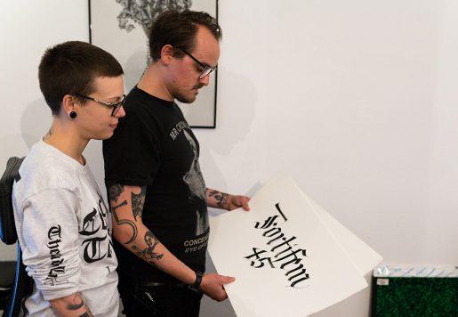 Jessica Daubertes & Adrien Havet, Directeur Artistique et Illustrateur à Paris. Photo de Florian Lavie-Badie pour 10point15.
