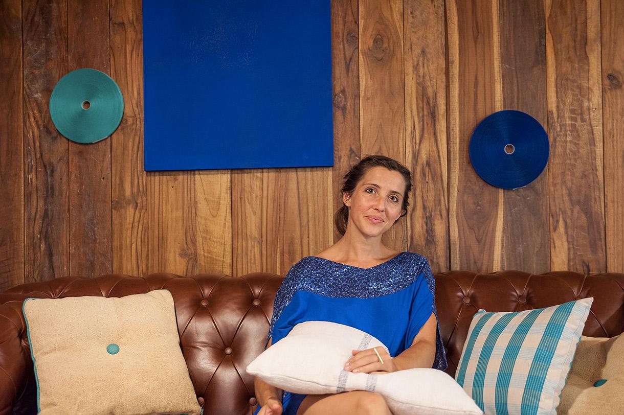Maia Eder Curutchet, Directrice de création, Peintre et Styliste à Bilbao. Photo de Gary Lafitte pour 10point15.