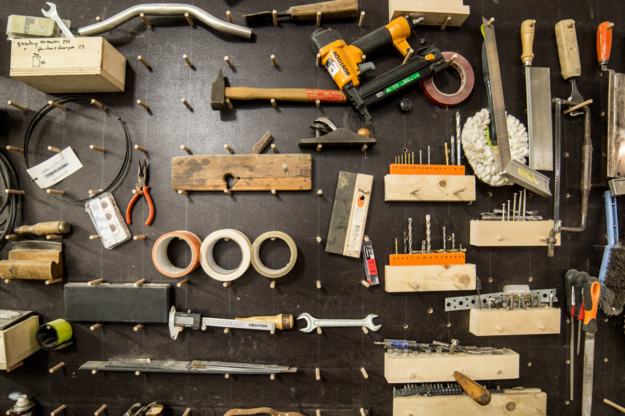 Thomas & Martin Dircks, Designer et Ébéniste à Bordeaux. Photo de Romain Laffue pour 10point15.