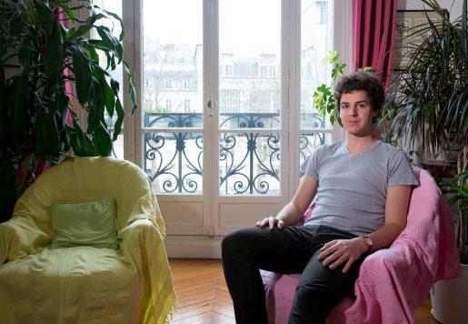 Clément Bénech, Écrivain à Paris.