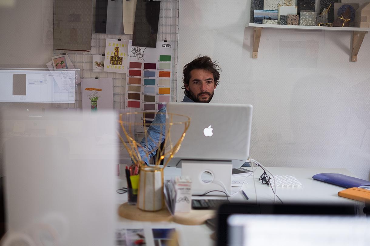 Joran Briand, Architecte d'intérieur et Designer à Paris.