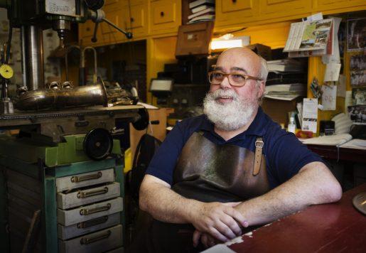 Patrick Le Méhauté, Facteur d'instruments à vent à Bordeaux.