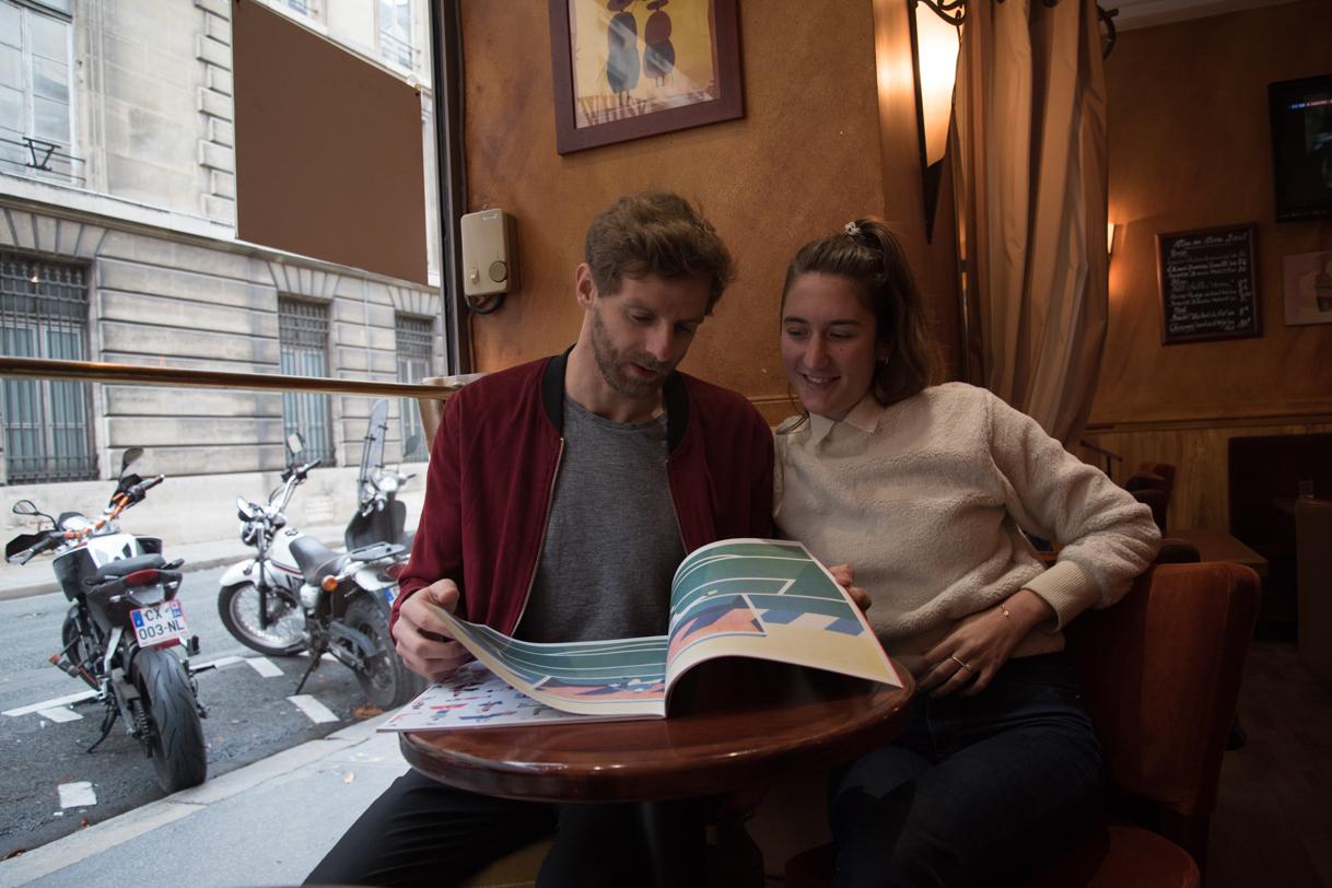 Léopoldine Siaud & Thomas Symonds, Directeur Artistique, Illustrateur et Vidéaste à Paris.