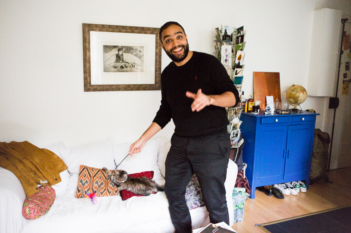 Safouane Ben Slama, Artiste et Photographe à Paris.