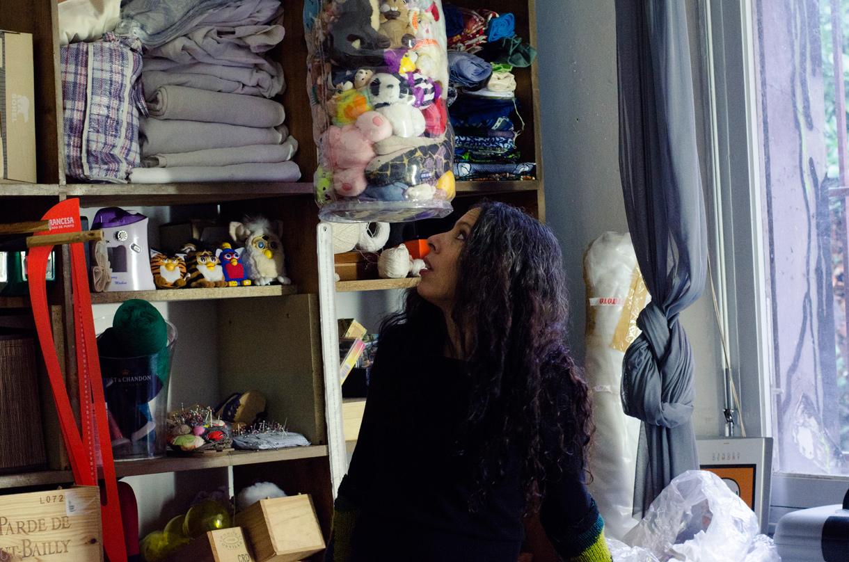 Rustha Luna Pozzi-Escot, Artiste, Plasticienne et Sculpteur à Bordeaux - Lima.