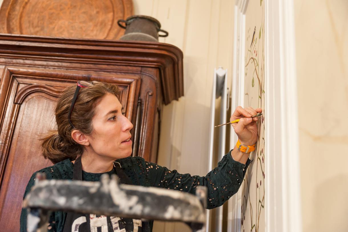 Lise Nicouleau & Laurent Marzano, Décorateur, Doreur et Peintre à Bordeaux.