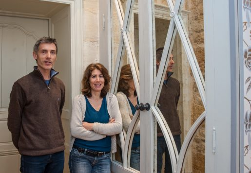 Lise Nicouleau & Laurent Marzano, Décorateur, Doreur et Peintre à Bordeaux. Photo de Gary Lafitte pour 10point15.