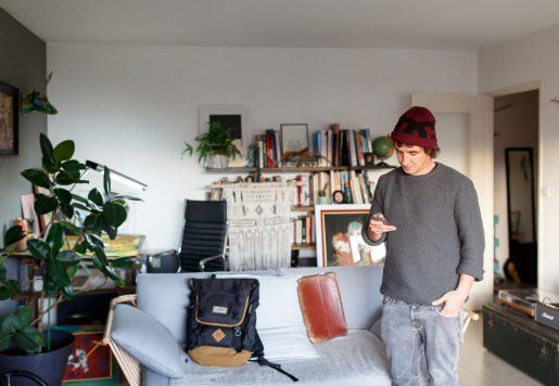 """Nicolas """"Odö"""" Leborgne, Créateur, Graphiste et Peintre à Biarritz."""