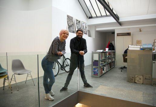 Viviane & Stéphane Morey, Directeur Artistique à Lausanne.