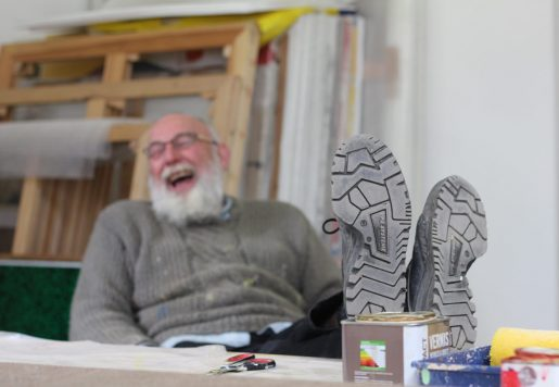 Laurent Mazuy, Artiste et Peintre à Orléans. Photo de Thomas Wattebled pour 10point15.