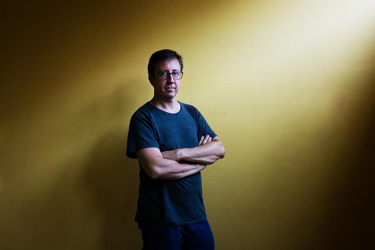Emmanuel Aragon, Plasticien à Bordeaux.
