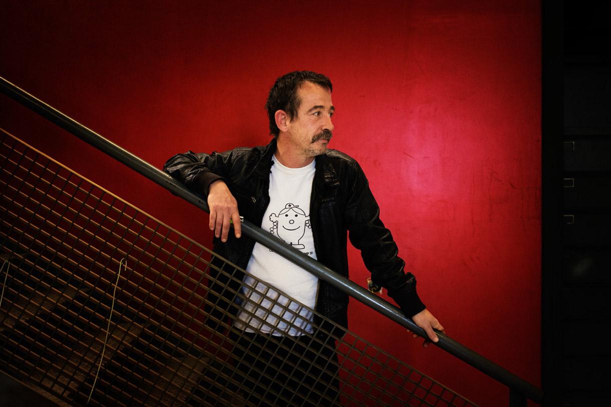 Frédéric Latherrade, Directeur et Plasticien à Bordeaux.
