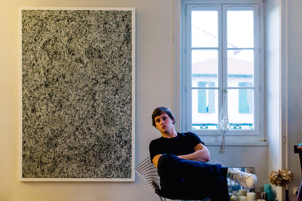 Mathieu Chavaren, Artiste et Peintre à Biarritz.