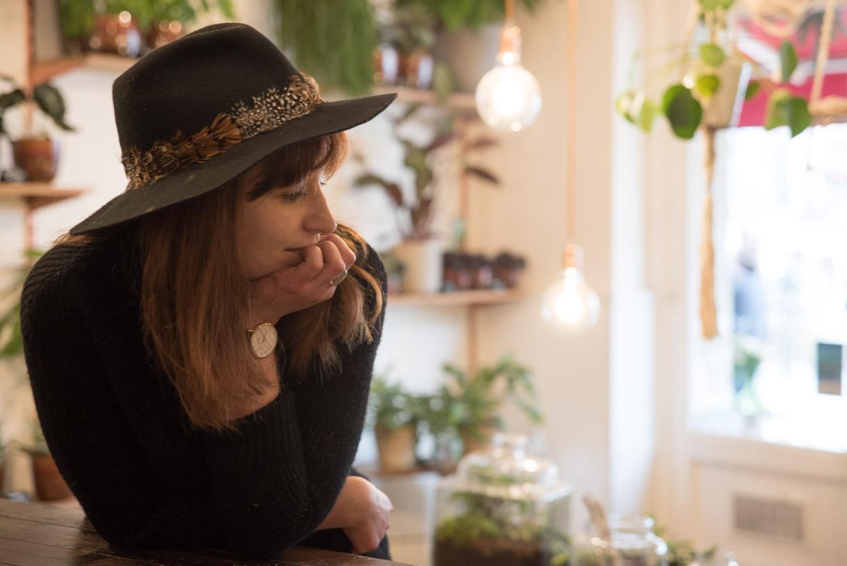Joanna Huneau, Artisan et Fleuriste à Bordeaux.