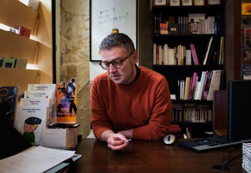 Rodolphe Urbs, Dessinateur de presse et Libraire à Bordeaux.