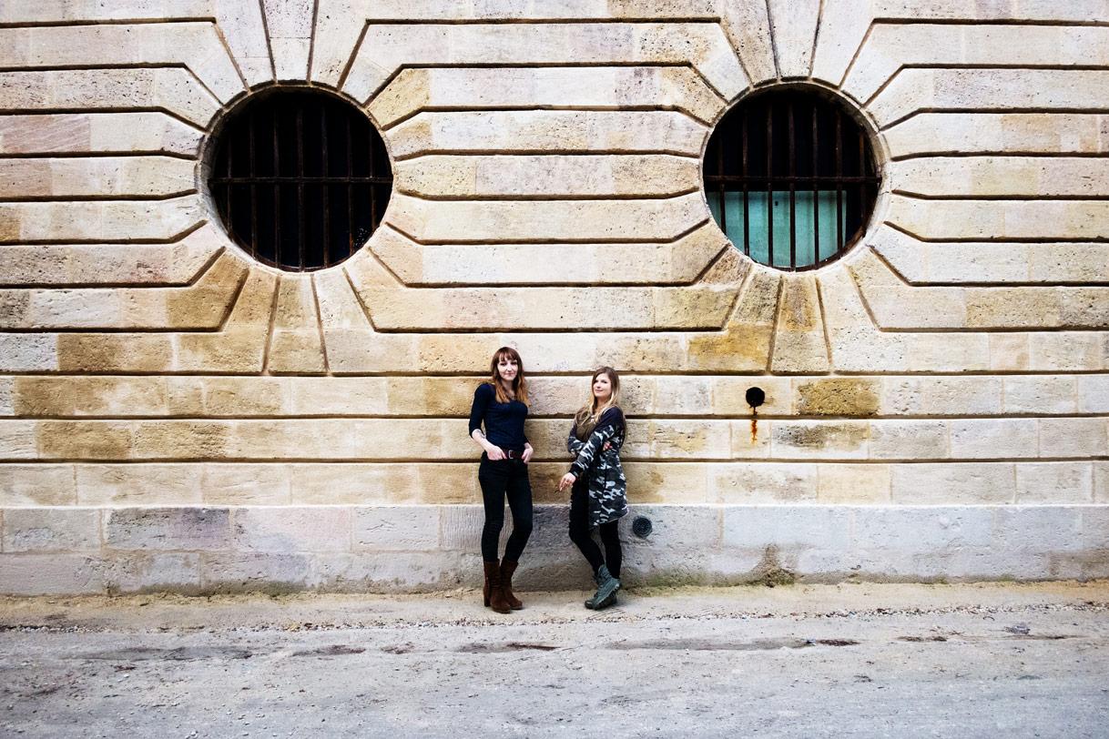 Julie Portal & Charlotte Szymendra, Plasticienne et Sculptrice à Bordeaux.